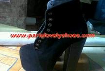 Model Sepatu Boot dari Paris Lovely Shoes