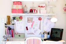Cake studio/work space / by Robin Koelling
