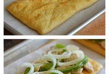 Chicken avo puff pastry