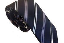Corbatas a rayas / Las corbatas a rayas se han convertido en esos accesorios de moda de hombre que siempre están a la última. Es un acierto seguro.