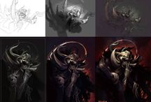 Painting Workflows / Workflow of different artist to get an Idea on how they work