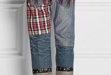Брюки-Переделываем одежду