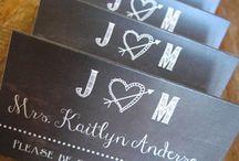 Wedding - Name Cards