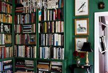 Bibliotek/lounge