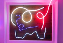Courty / A VERY exciting new artist has arrived in the gallery.... Courty has glass-blown neon art pieces for world leaders, stars and the super rich...and now Westover Gallery. This is an absolute must view for any contemporary art lovers...come in to the gallery for full appreciation!