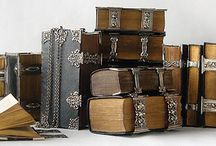 BOOKS Manuscripts, Antiquarian / Included are Altered Books that resemble books from past historical times / by RedSeaCoral