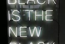 Black home  / basic inspirations