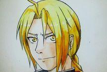 My manga drawings