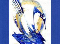 Energeticke obrazy s afirmacemi / Obrazy malovala Frantiska Janeckova