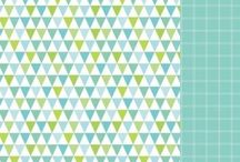Cardstock -Pickle Paper Patch / Delightful cardstock for all craft projects. Cut, glue, stick or embellish your creativity is the only limit!
