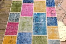 Multicolor Patchwork Rugs