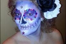 Halloween / Sugar skull make up