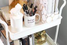 Organizando a casa / organizing / Encontre fotos e inspirações para colocar ordem na bagunça da casa de um jeito bem prático e simples.