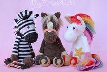 Patterns crochet unicorns