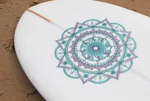 surf and mandala