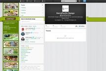 Twitter Page Design Portfolio