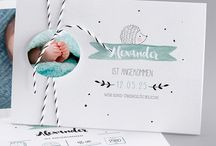 Baby Karte & Fotografie