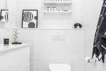 Kylpyhuone Valkoinen