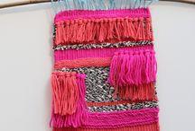 fiber art and weaving