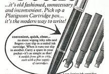Pen advertisements
