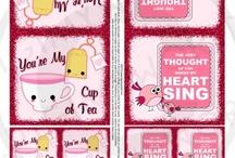 Corny Kid Valentines Card Printables!!