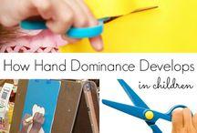 Hand work in childhood