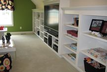 upstairs bookcases