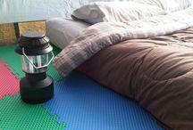 Ah, pitch tent & camp