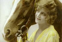 femme cheval