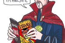 Doctor Strange, not obsessed...