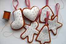 Christmas stitchery / Sewing stuff for Christmas / by Sharon Jorgensen