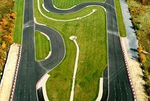 Design: Race Tracks & Roadways / Form and function are equally important in the design.