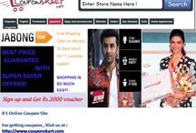 Jabong Coupons -Upto 50 % off coupons from Couponskart.net / 50% off on shoes , bags ,  clothes , jewellery , footwears purchase while online shopping  - http://www.couponskart.net/jabong-coupons