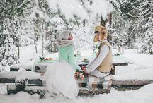wedding lovestory winter