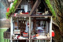 ❤️ Where the Little Folks lives ............ ❤️ / Homes of Faeries & other Critters