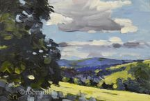 Northern Rob Miller / Landscape paintings of Lancashire, Yorkshire and Derbyshire www.robmillerartist.org