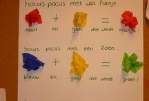 Thema kleuren en vormen