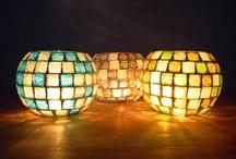 luminarias en mosaiquismo
