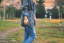 Denim on denim / www.themergemagazine.com
