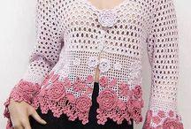 crochet baju kebaya lace