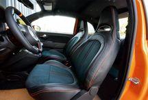 FIAT500 / FIAT500 customised interiors  http://www.arju.jp