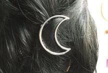 moon • myth / selene • greek goddess of the moon • daughter of hyperion • sister of helios and eos • her symbols are: the crescent, the bull, the dog and the torch •