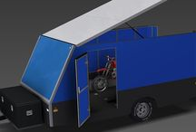 4m ENCLOSED MOTORBIKE TRAILER  - TRAILER PLANS / Trailer plans - build your own ENCLOSED MOTORBIKE Trailer www.trailerplans.com.au