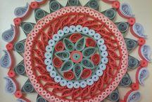Mandala quilling