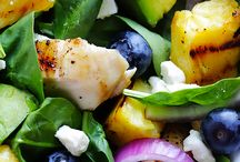 Classic Salads / Grilled Pineapple