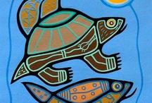 Native aborigen art