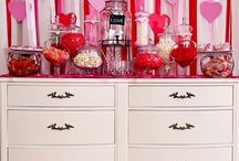 Candy! / Candy Buffet | Valentines Day | Love www.twelfthnightevents.com