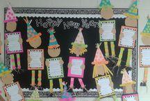 Classroom Happy New Year