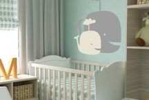 baby room grey and yellow