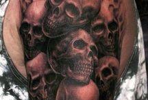 Skull tatoeages